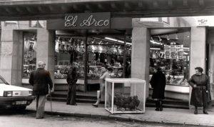 Foto tienda La Felguera 1988