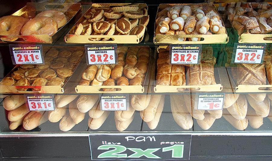 Franquicias ensupunto. Sección panadería